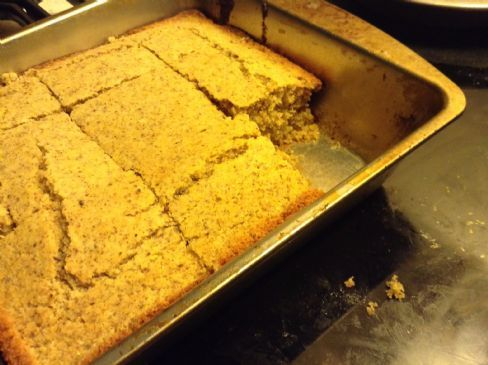 Wheat free corn bread