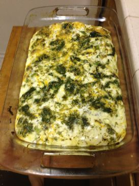 Low-Carb Crustless Rosemary and Dill Quiche