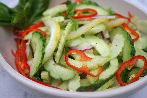 Cucumber Salad Make-Over