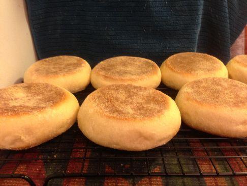 Gary's Bread Machine English Muffins
