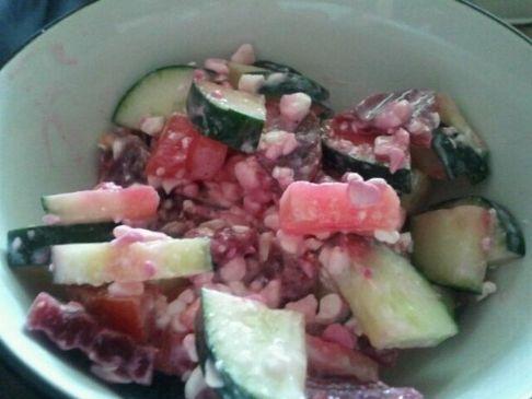 Easy Lettuce Free Salad