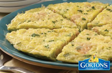 Salmon Frittata from Gorton's