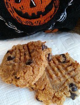Pumpkin Chocolate Chip Cookies (Gluten Free)