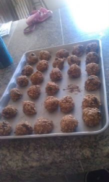Oatmeal Chocolate Chip cookie balls