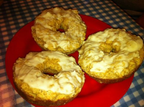 Baked Maple Donuts with Maple Glaze
