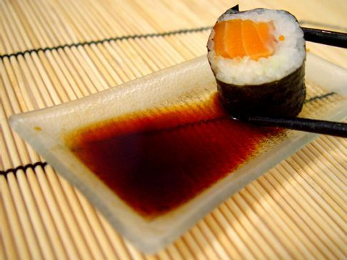 My Easy Salmon Sushi