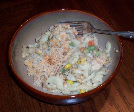 Creamy Mac 'n Chicken Casserole