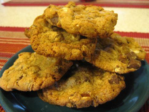 Chocolate-Pecan-Oatmeal Cookies