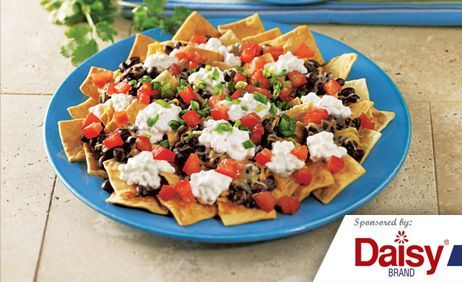 Black Bean Nachos from Daisy Brand®