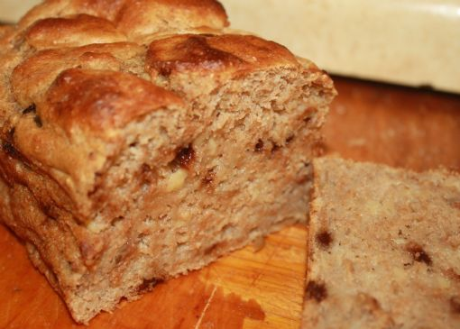 Low Fat and low sugar 10 minute Banana Bread