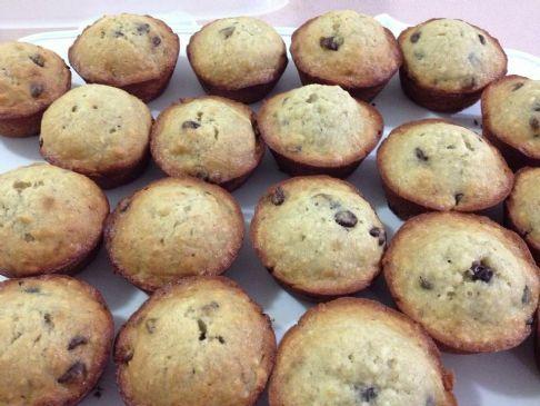 Banana Chocolate Chip Muffins