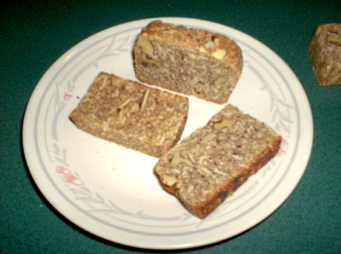 Really Lo-Carb Almond Walnut Biscotti