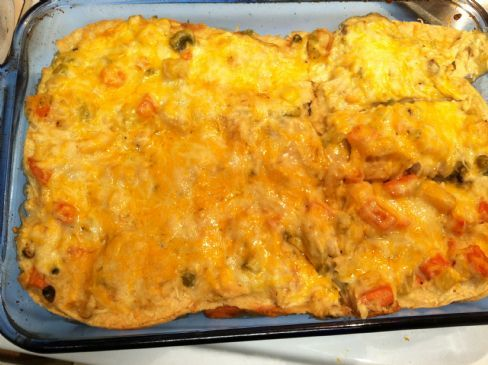 Mexican Green Chile Casserole w/ Veggies