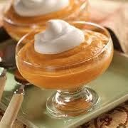 Guilt-free Pumpkin Pudding