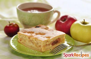 Apple Angel Food Dump Cake