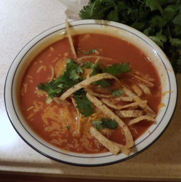 Brenda's Chicken Enchilada Soup