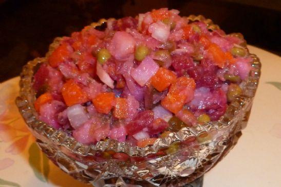 Russian Beet and Potato Salad