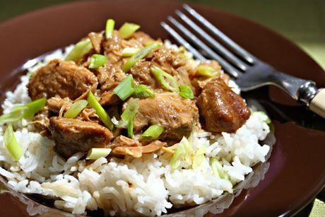 Slow cooker Filipino Chicken Adobo 5 (old) pts per serving