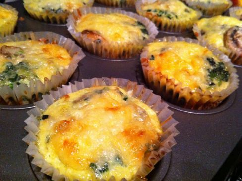 Rachel Mac's Low-Carb Crustless Mini Quiche