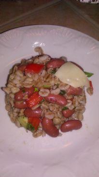 BL Red Team Farro Salad