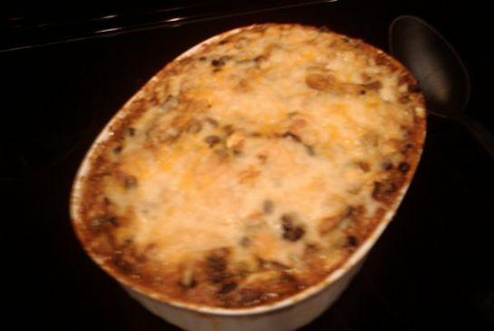 Spaghetti Squash & 3 Cheese Casserole