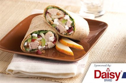 Turkey Salad Roll-Ups from Daisy Brand®
