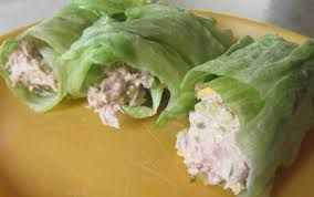 Lettuce Tuna Wraps (Greek Yogurt)