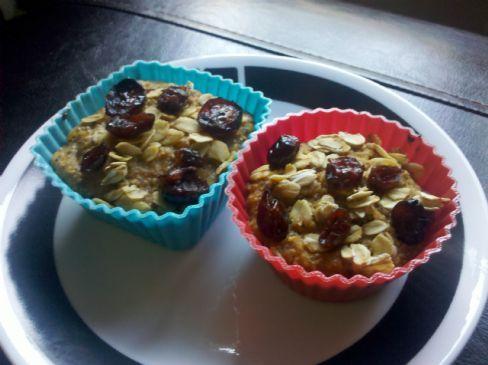 Wheatena Maple Pumpkin Cranberry Muffins