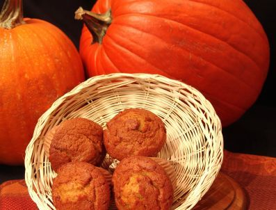 Spiced Butternut Squash Muffins