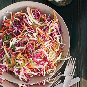 Sweet & Spicy Lime Slaw