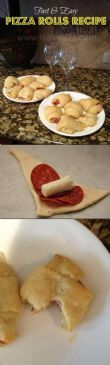 Easy Pizza Crescent Rolls