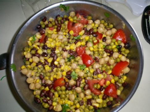 Black Eye Peas Salad