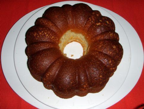 White Bean Lemon Bundt Cake