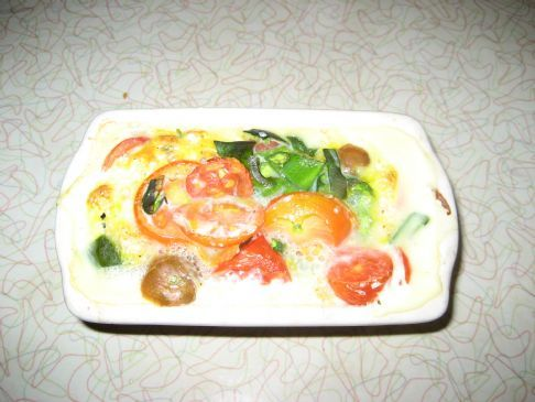 Veggie and Egg Bake