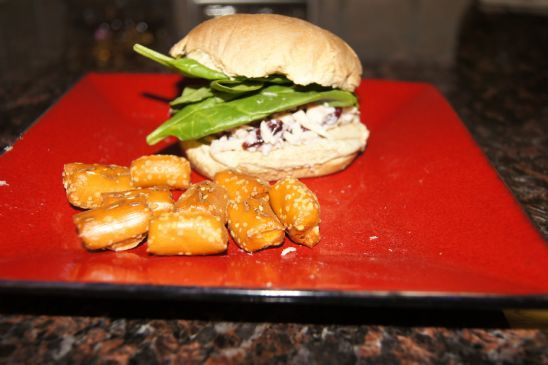 Cranberry Tuna Sandwich