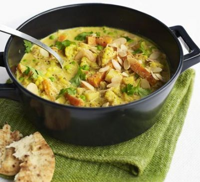 Creamy veggie korma from bbc good food recipe sparkrecipes creamy veggie korma from bbc good food forumfinder Choice Image