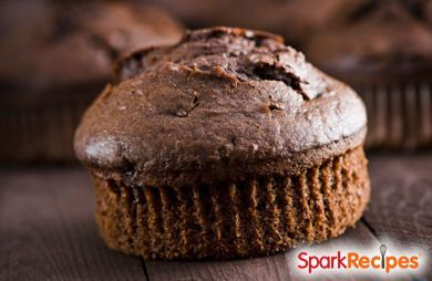 1 minute low carb chocolate muffin