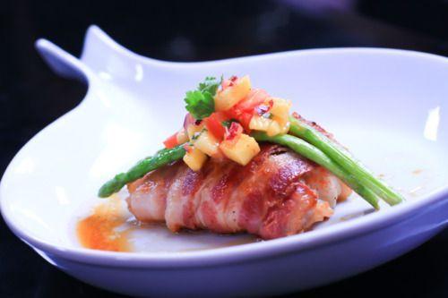 Bacon Baked Fish