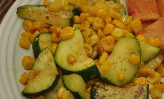 Zucchini & Corn Saute