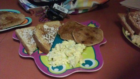 Choc Chip Pancakes!