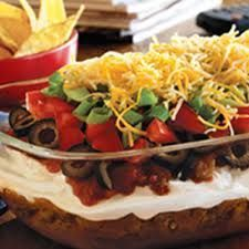 8 Layer Black Bean Dip