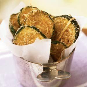 Crispy Oven Baked Zucchini Chips