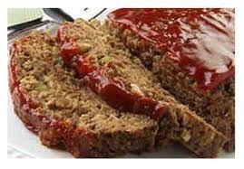 Lean BBQ Meatloaf