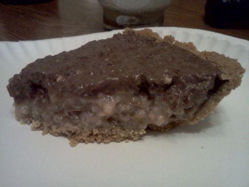 Chocolate Cherry Tapioca pie