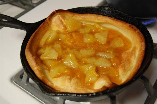 German Apple Pancake