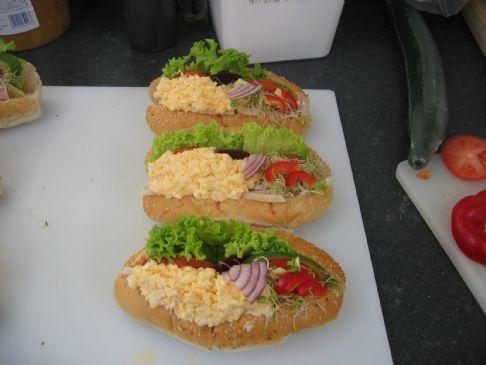 Fanoel Egg and Ham Roll