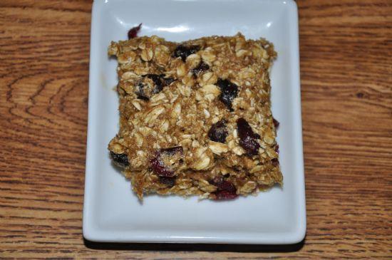 Lauren's Cranberry Granola Squares
