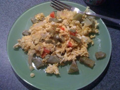 Nopales con Huevos