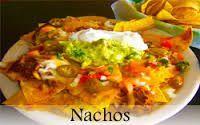 Black Bean & Cheese Nachos
