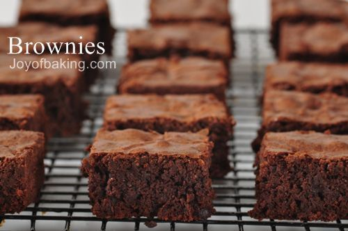 Joy Of Baking Brownies